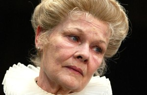 Judi Dench: 'I live in fear as an actor'
